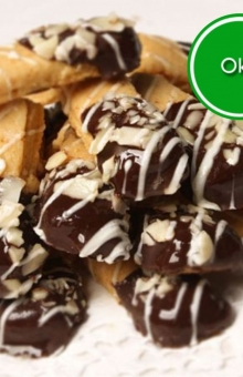 Almond Cheese Coklat