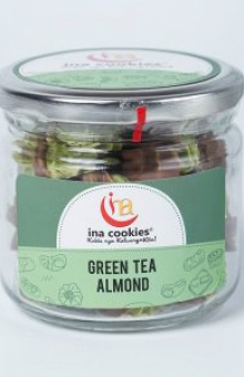 Almond Green Tea Jar